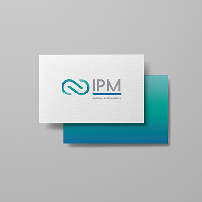 Logo Redesign forInstitute for Research in Fundamental Sciences (IPM)